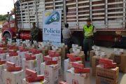 65 mil cajetillas de cigarrillos aprehendidas por la Polfa por valor de $ 87 millones