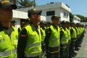 91 Auxiliares de Policía juran a la bandera