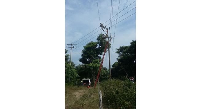 Por mantenimientos eléctricos en Chimichagua, suspenderán el servicio de luz