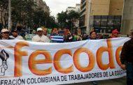 Magisterio colombiano parará durante 48 horas y anuncia Gran Caravana por la Vida