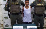 Capturado alias Pollita por porte de estupefacientes