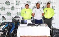 En allanamiento capturada persona con armas de fuego en Valledupar