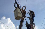 Instalan banco de condensadores para la mejora del servicio en Pailitas