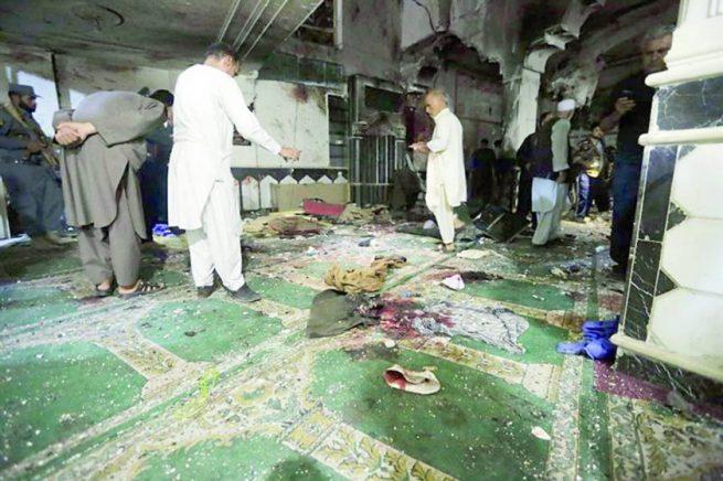 Al menos 29 personas mueren por explosión de bomba en mezquita del este de Afganistán