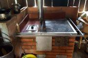 Estufas ecoeficientes, un sistema para mejorar el ambiente en la vereda Cuaré (La Gloria)