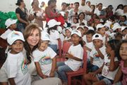 """""""Niños y Niñas del Cesar sin Fronteras"""", programa que entrega paquetes nutricionales"""