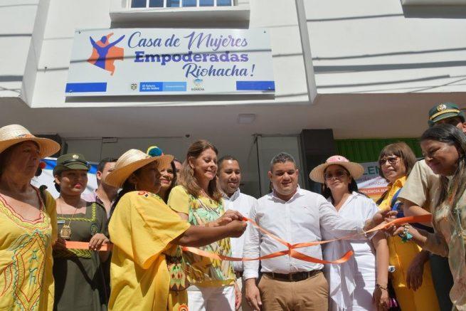 Riohacha, quinta ciudad con Casa de Mujeres Empoderadas