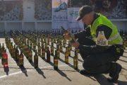 Incautadas botellas de licor en Valledupar y San Diego