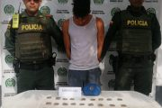 Capturado con varias papeletas de marihuana en Curumaní (Cesar)