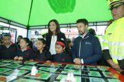 Gobierno adelanta campaña para controlar velocidad en entornos escolares y reducir siniestralidad vial en menores de edad