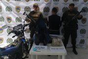 Capturado con más de 3 kilos de estupefacientes en Aguachica