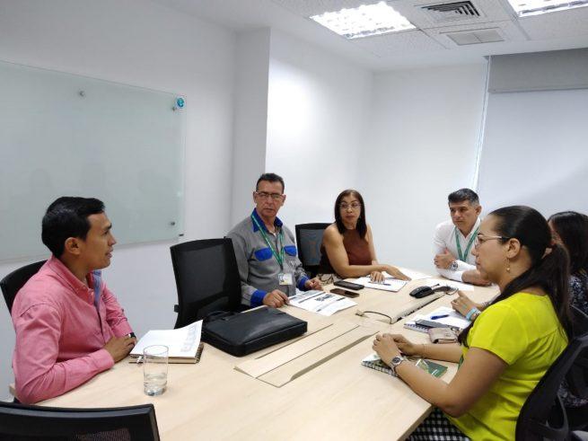 Gerente de Electricaribe se reúne con alcaldes para socializar acciones para la mejora del servicio