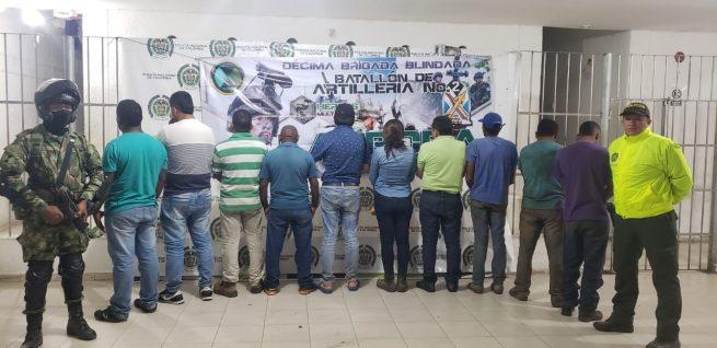 Por daño en recursos naturales en Valledupar, capturadas diez personas