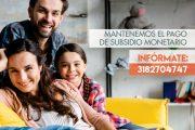 Comfacesar anticipa pago de subsidio monetario y salario a trabajadores