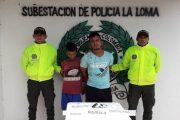 En allanamiento, Sijín incautó arma de fuego y estupefacientes en La Loma de Calenturas (El Paso)