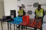 Policía recuperó computadores hurtados en Becerril (Cesar)