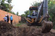 Inició trabajo de recuperación de los arroyos en Bosconia