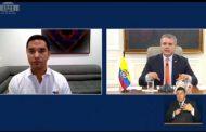 En diálogo con el Presidente Duque, alcalde de Valledupar dio a conocer al país cómo la ciudad ha enfrentado la emergencia sanitaria