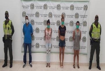 En un reservado fueron detenidas cuatro personas violando medida sanitaria en Aguachica