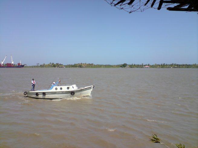 Obras de dragado del río Magdalena continuarán para mantener navegabilidad durante temporada de bajas lluvias