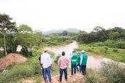 Director de Corpocesar visitó río Ariguaní para verificar el estado de las concesiones autorizadas por la Corporación