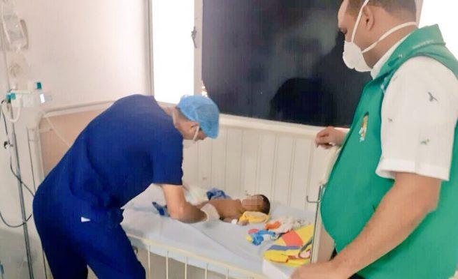 Icbf protege bebé de 8 meses hallado abandonado en Maicao, La Guajira