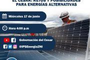 """En foro virtual se hablará sobre """"Retos y posibilidades para energías alternativas en el Cesar"""""""
