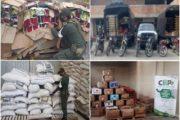 En departamentos de frontera, incautan más de $ 120 millones en productos agropecuarios