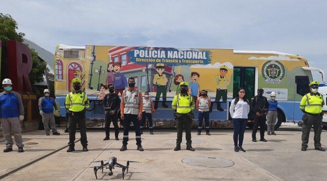 Con tecnología vigilarán las vías en el Cesar este fin de semana