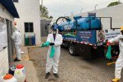 Donación de jornada de desinfección masiva en Valledupar