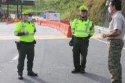 La invitación de la Policía de Tránsito a cumplir el Aislamiento Preventivo Obligatorio el puente festivo