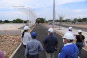 Así es el avance de tres obras que construye el Gobierno del Cesar en Valledupar