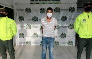 Alias El Diablo, señalado de participar de varios homicidios, capturado en Agustín Codazzi