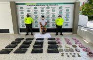 En allanamiento, capturado mayorista de estupefacientes en Valledupar