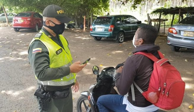 Listos los controles de la Policía en el Cesar durante el fin de semana