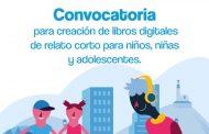 Abierta convocatoria en Estímulos 2020 para creación de libros digitales dirigidos a niñas, niños y adolescentes