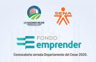 Ampliado plazo para inscribirse al Fondo Emprender en el Cesar