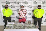 Detenido por tráfico de narcóticos en el barrio Divino Niño de Valledupar