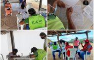 Comunidades indígenas de Uribia, inscriben sus predios ante el ICA