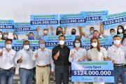 Emprendedores del Cesar recibieron beneficio económico