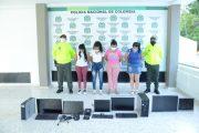 Cuatro mujeres capturadas por comercializar apuestas ilegales en Valledupar