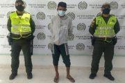 En hechos aislados, dos capturados en Aguachica por concierto para delinquir