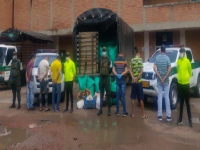 Cae organización delincuencial dedicada al contrabando de carne