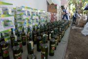 Destruyen más de 24 mil unidades de cigarrillos y licores de contrabando