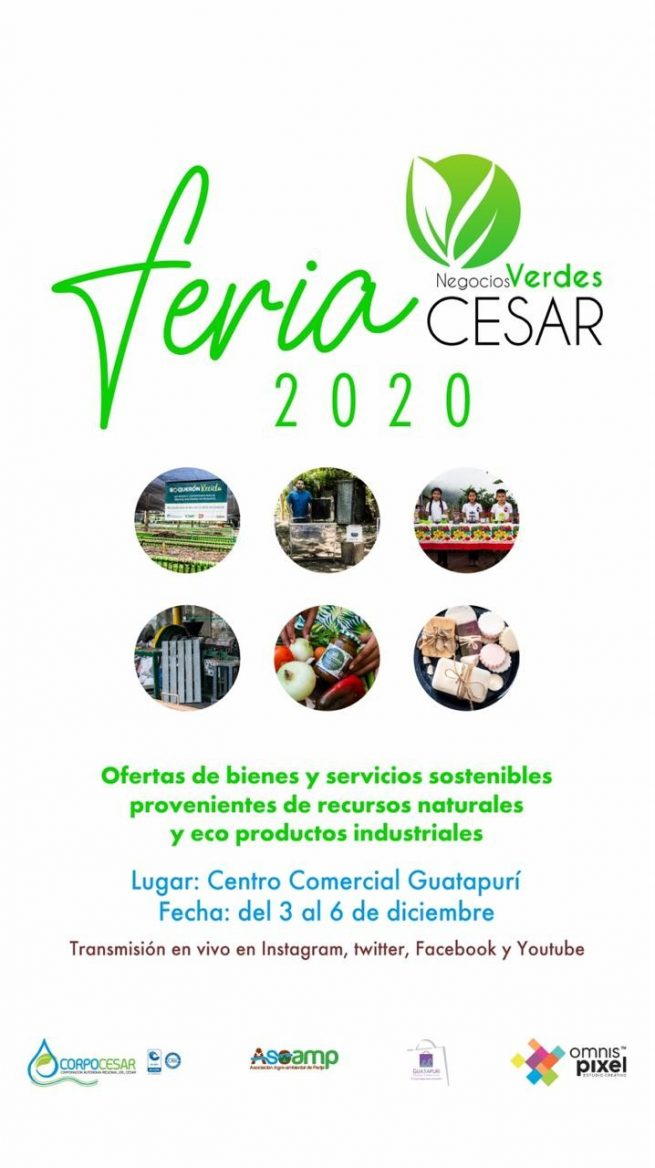 Todo listo para la Feria de Negocios Verdes 2020