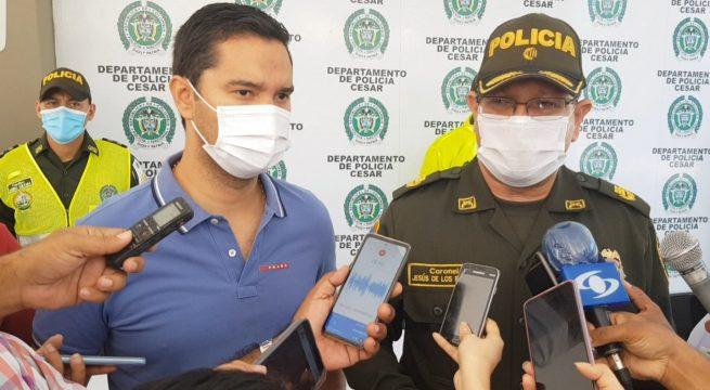 Policía presenta primer balance navideño en Valledupar