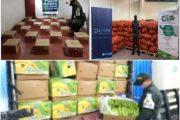 Incautados más de $ 244 millones en productos agropecuarios de contrabando