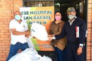 Hospital San Rafael de San Juan del Cesar recibió kits de bioseguridad
