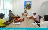 Consejeros de Danza de La Guajira conocieron las iniciativas para la reactivación del sector