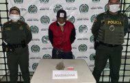 Dos personas capturas con estupefacientes y otra con arma de fuego